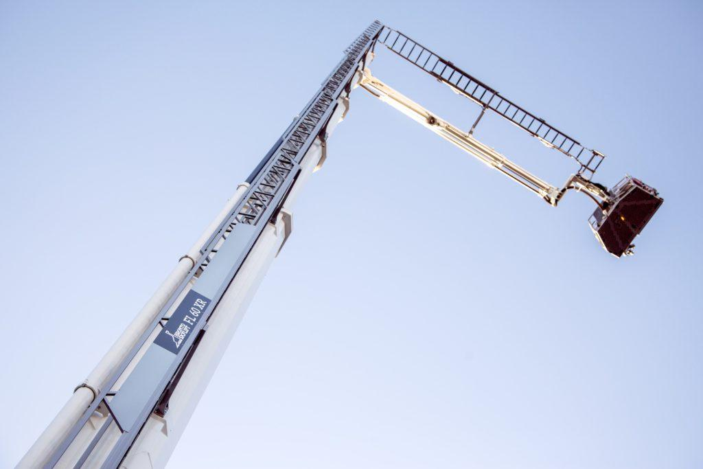 Bronto Skylift F60XR rescue ladder