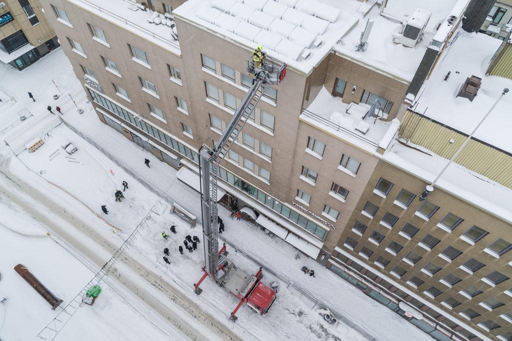 Bronto F32TLK aerial ladder platform