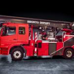 Bronto Skylift F32TLK aerial ladder platform