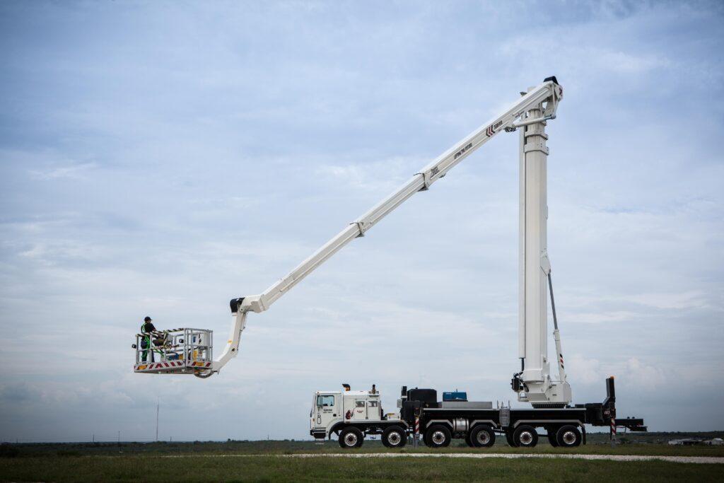 Bronto S295HLA aerial work platform