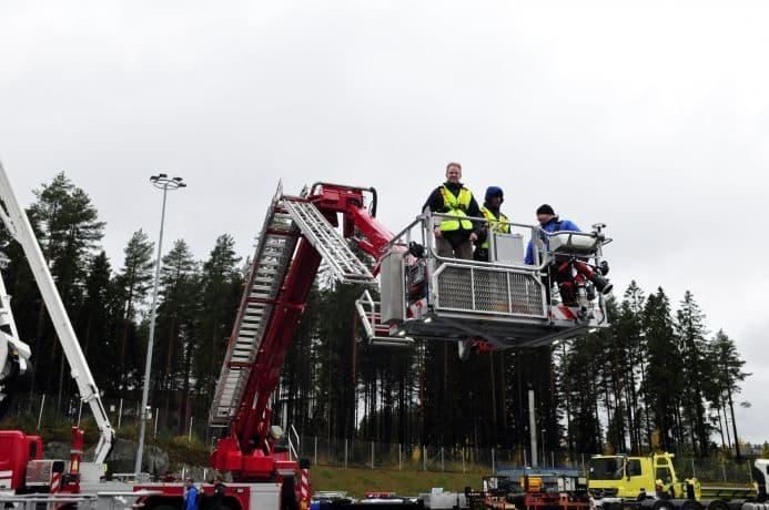 bronto fire apparatus