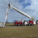 F135RLX aerial fire truck
