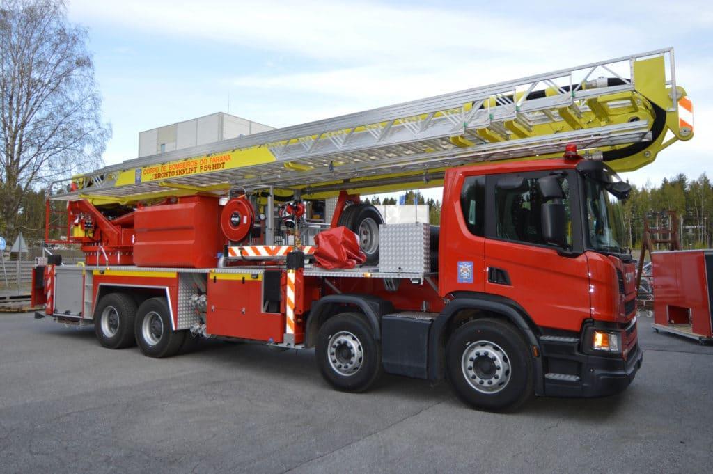Bronto Skylift F54HDT for Parana Fire Brigade