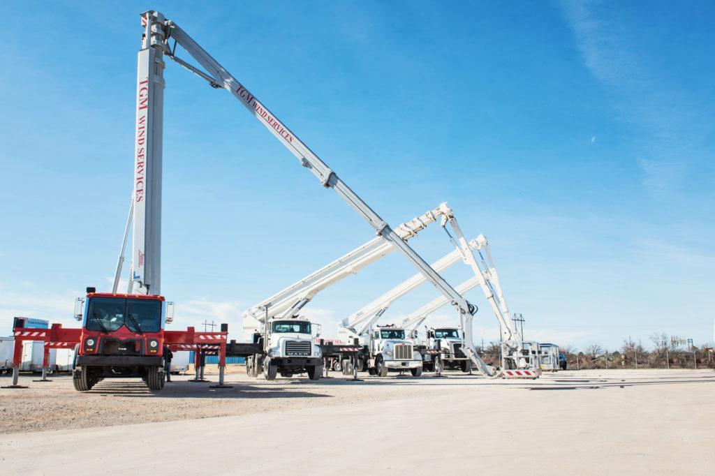 Kardie's truck-mounted aerial platforms