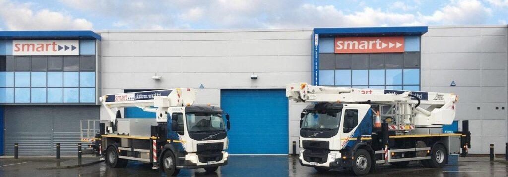 Two new aerial work platforms at Smart Platforms Ltd