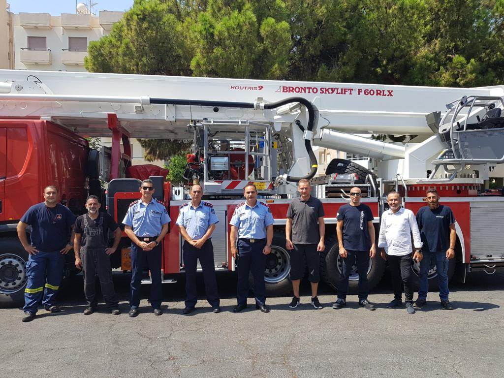 Hand over of Bronto F60RLX in Cyprus