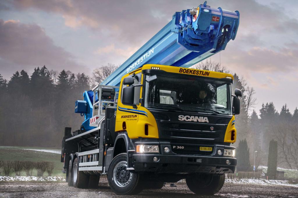 Bronto S56XR aerial platform form crane rental company Boekestijn BV